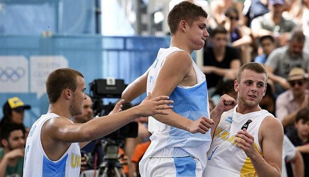 Баскетбол 3х3: сборная Украины сыграет с Аргентиной в полуфинале ЮОИ-2018