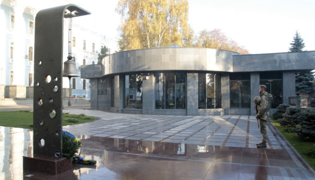 В Зале памяти Минобороны состоялась церемония поминания погибших героев