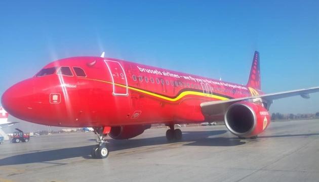 """В """"Борисполе"""" встретили первый рейс Brussels Airlines"""