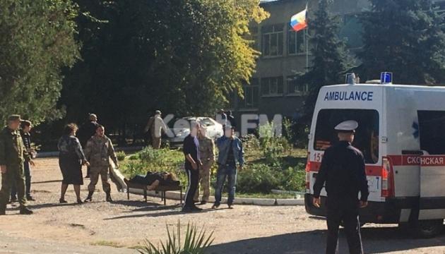 Директор Керченського коледжу: вони кидали вибухові пакети, це справжній теракт