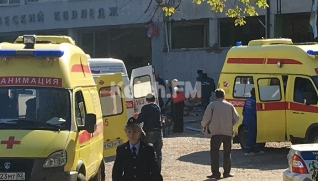 クリミアのケルチ市大学で爆発、10名死亡