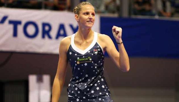 Теннис: Каролина Плишкова замкнула список участниц турнира WTA Finals