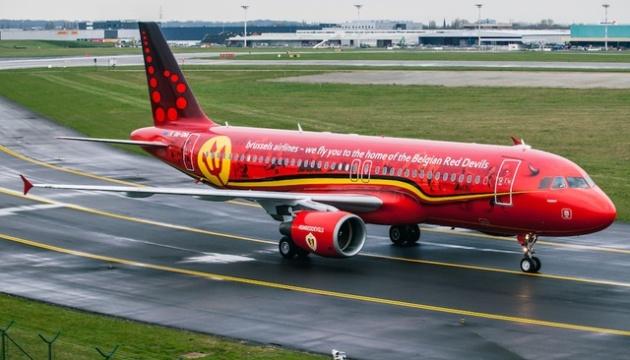 Популярность перелетов между Киевом и Брюсселем за два года выросла на 68%