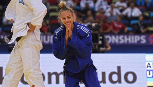Українка Дар'я Білодід стала дворазовою чемпіонкою світу з дзюдо