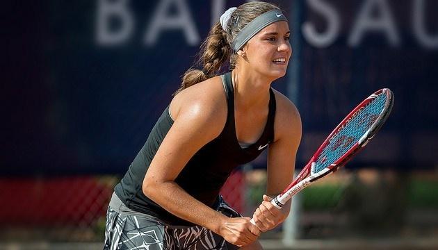 Украинка Калинина уверенно вышла в четвертьфинал турнира ITF в Китае