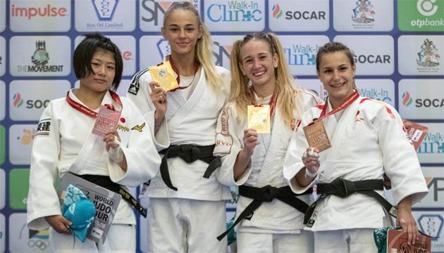 Українська дзюдоїстка Білодід - чемпіонка світу у всіх вікових категоріях