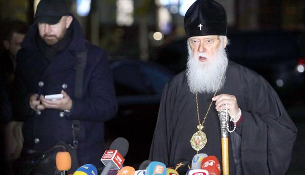 Філарет заперечує заяви митрополита Михаїла про шантаж на Об'єднавчому соборі