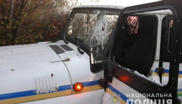 На Рівненщині бурштинокопачі закидали камінням поліцію