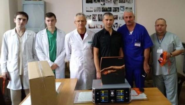 Дитячій лікарні Житомира подарували сучасне обладнання