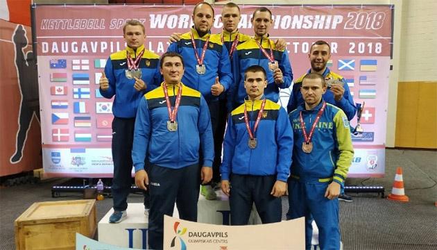 Нацгвардійці здобули 12 медалей на чемпіонаті світу з гирьового спорту