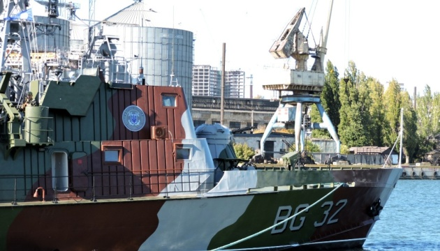 Отремонтированный корабль