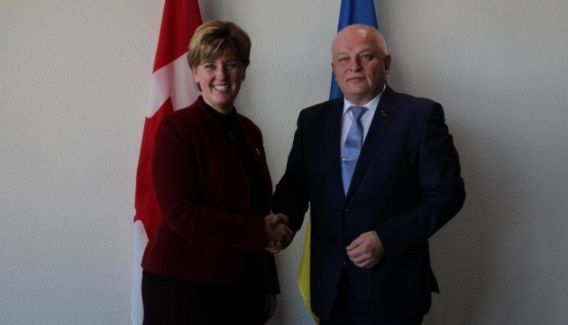 Vice PM Kubiv discusses assistance to Ukrainian business in Canada