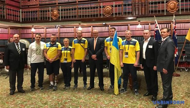 Украинскую команду «Игр непокоренных» чествовали в австралийском парламенте