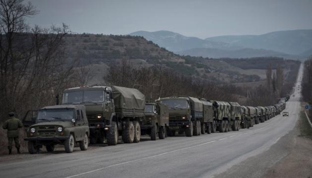 Військові вантажівки РФ тричі за місяць порушили кордон на окупованому Донбасі