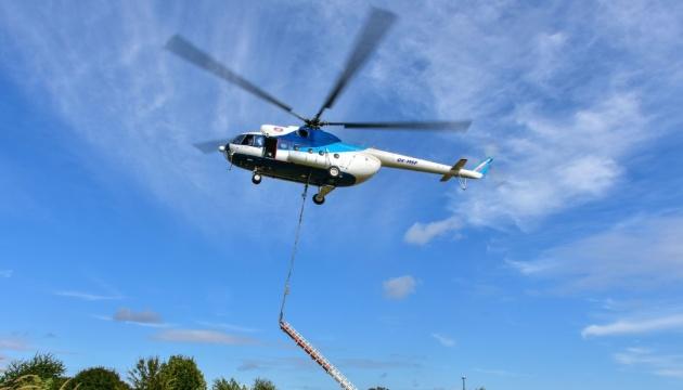 Первый в Европе украинский Ми-8 пополнил флот Берлинской вертолетной службы