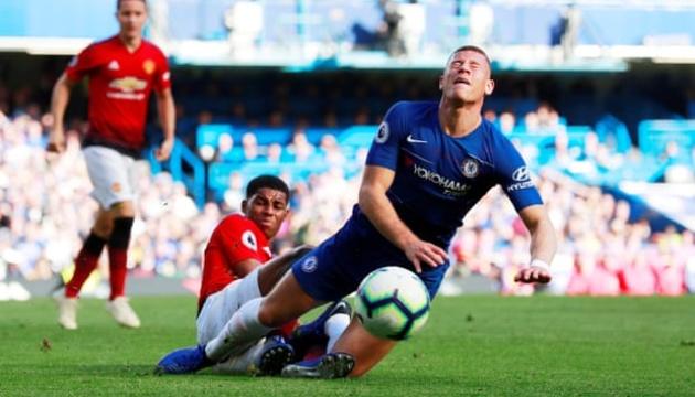 АПЛ: «Челси» вырвал ничью в матче с «Манчестер Юнайтед»