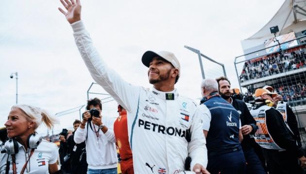 Формула-1: Гемілтон виграв кваліфікацію Гран-прі США