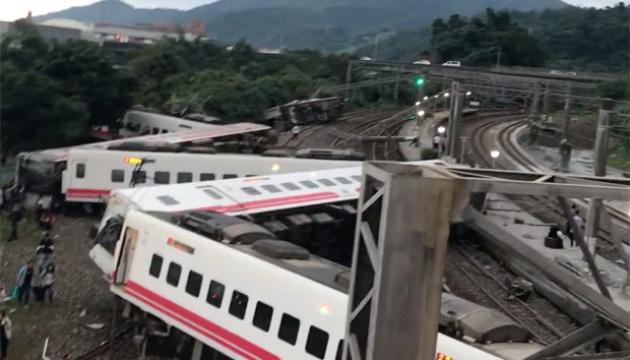 На Тайвані назвали причини аварії потяга