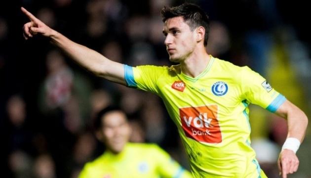 Роман Яремчук забил за «Гент» впервые за два месяца