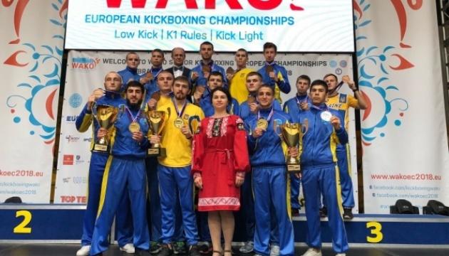 Украинцы завоевали 15 наград на Евро-2018 по кикбоксингу WAKO