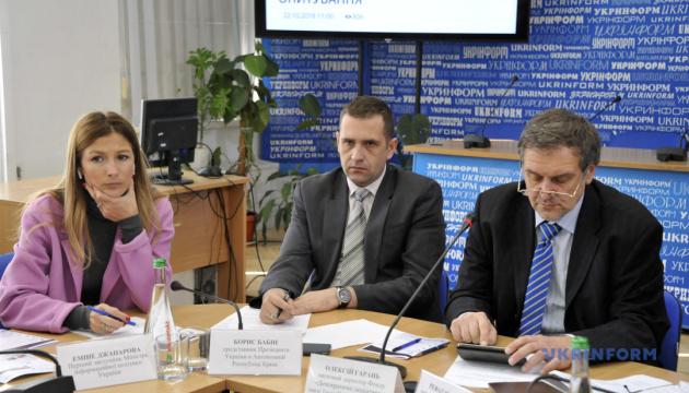 Стратегію інформаційної реінтеграції Криму приймуть протягом місяця - Джапарова