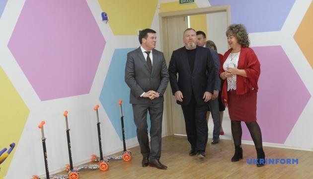 Зубко відкрив два новітні садочки-«вулики» на Дніпропетровщині