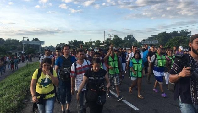 """""""Караван мігрантів"""" дістався американського кордону"""