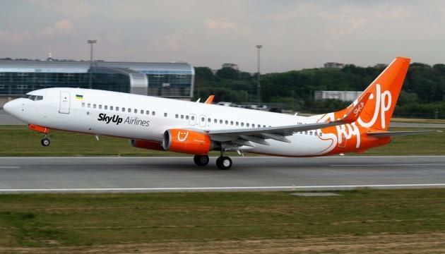 SkyUp відкрила продаж бюджетних квитків на міжнародні рейси