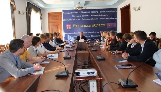 Очільник Вінниччини зустрівся з учасниками програми Києво-Могилянської бізнес школи (KMBS)