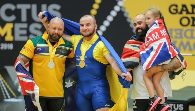 Ukraine wins third gold medal at Invictus Games