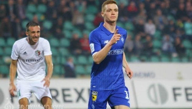 Футбол: динамовец Цыганков готовится к матчу Лиги Европы, участие Вербича - под вопросом