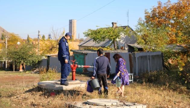 Торецк без воды: спасатели говорят, что им гарантировали безопасность на время ремонта