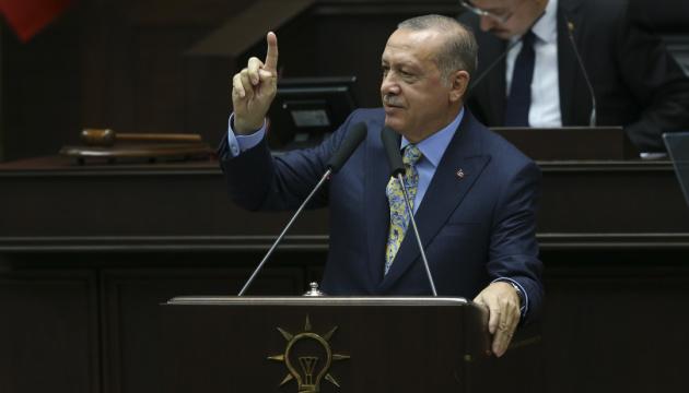 Эрдоган заявил, что турецкие войска скоро войдут на восток Сирии