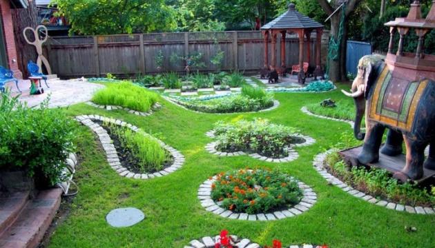 Оформление ландшафтного дизайна с помощью декоративных растений