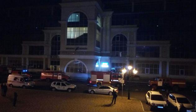 В Одессе из-за взрыва гироскутера эвакуировали бизнес-центр