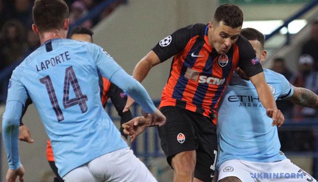 El Shakhtar pierde ante el Manchester City en la UEFA Champions League