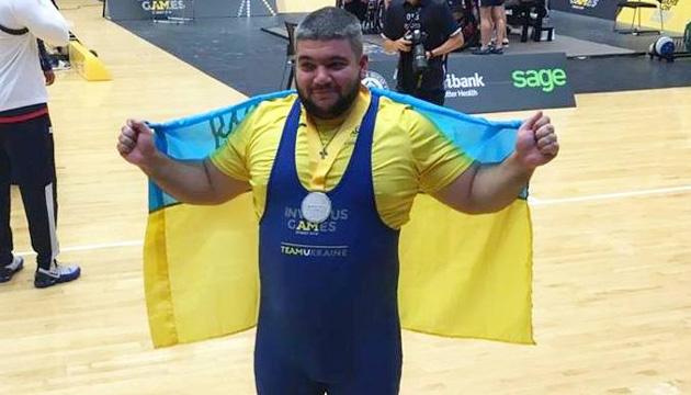 Українець виборов срібну медаль з пауерліфтингу на Іграх нескорених