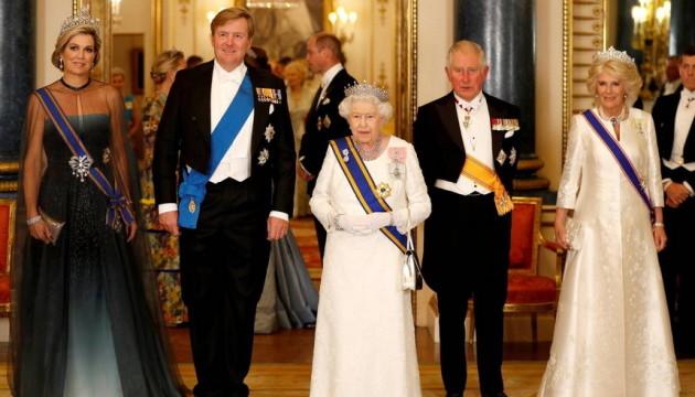 Як британські монархи зустрічали королівське подружжя Нідерландів