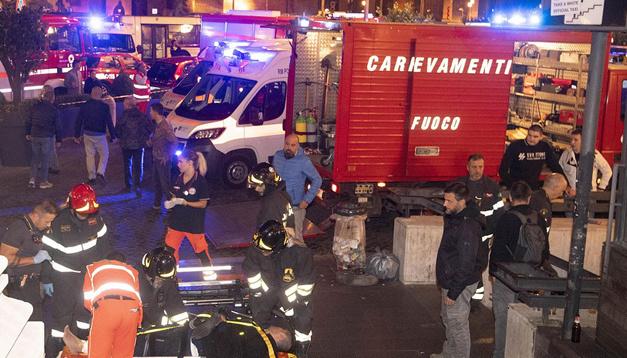 MAE: Ucranianos que se han convertido en víctimas tras el accidente en el metro de Roma son hospitalizados