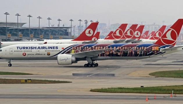 Turkish Airlines літатиме частіше зі Стамбула до Києва