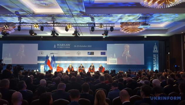Клімкін на безпековому форумі у Варшаві нагадав про українських політв'язнів