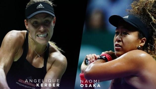 Кербер обыграла Осаку на Итоговом турнире WTA в Сингапуре