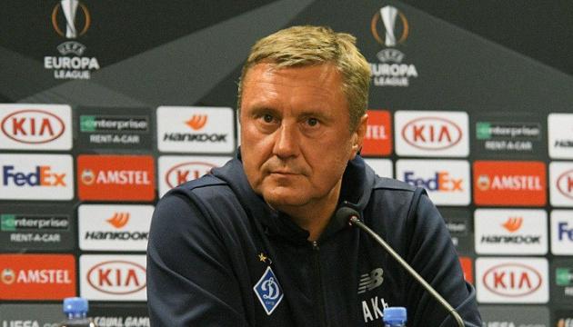 Хацкевич: В матче против «Ренна» рассчитываю на Вербича