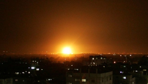 ВВС Израиля нанесли авиаудар по сектору Газа
