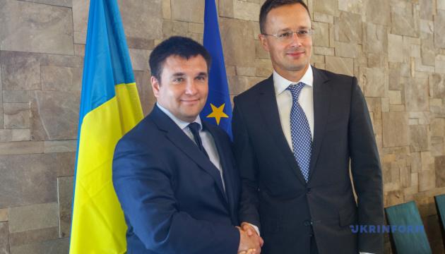 Szijjártó comments on meeting with Klimkin: Positive steps and good compromise