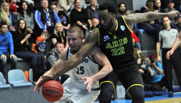 Баскетбол: «Днепр» проиграл «Арису» в Кубке Европы