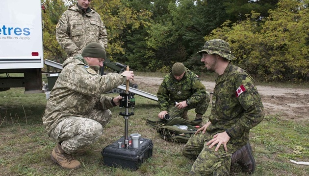 Ukrainian deminers win at Ardent Defender 2018 exercise in Canada. Photos