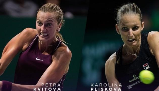 Плишкова обыграла Квитову и вышла в полуфинал Итогового турнира WTA
