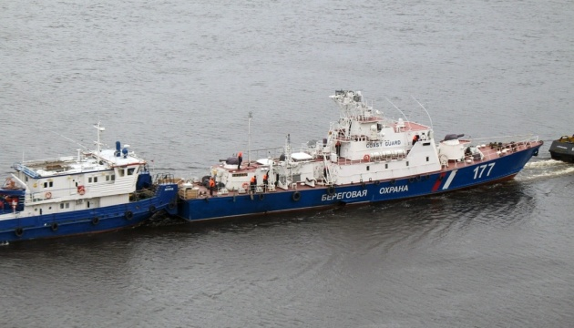 В Азовское море зашли еще два военных корабля РФ