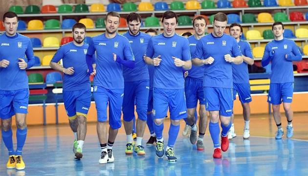 Футзал: стал известен состав сборной Украины на спарринги во Франции